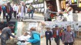 চৌদ্দগ্রাম পৌরসভার ১-৬ ওয়ার্ডে বিএনপির মেয়র প্রার্থী হারুনের গণসংযোগ