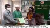 নাঙ্গলকোটে কাউন্সিলর প্রার্থী নিজাম উদ্দিন মজুমদারের মনোনয়ন পত্র দাখিল