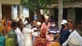 জোড্ডা পূর্বে ১২ শ' পরিবার পেল আ'লীগ নেতা নুরুল আফসারের ঈদ উপহার